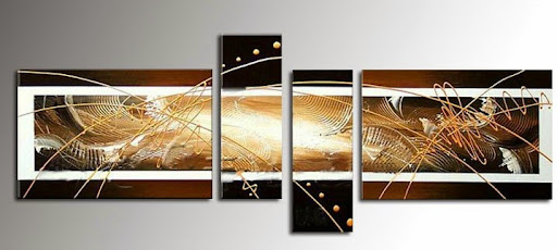 Hand-painted wall decor landscaping paintings on canvas