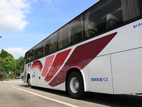 西鉄高速バス「桜島号」 9134 側面