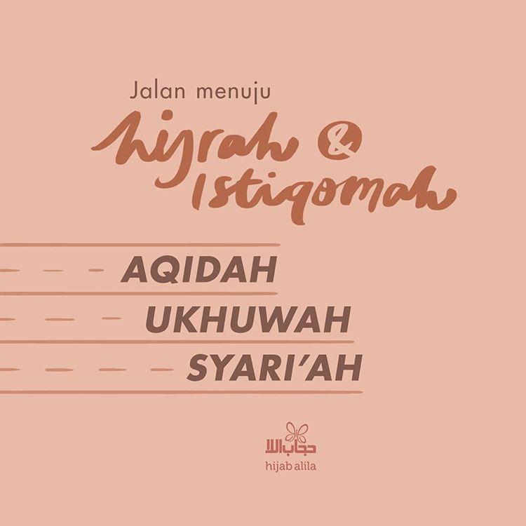 3 Jalan Menuju Hijrah Dan Istiqomah Madrasah Muslimah
