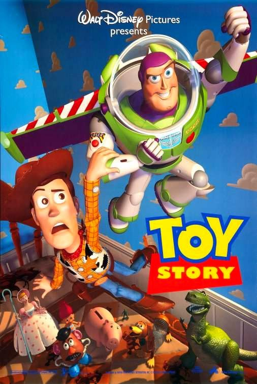 Poster Of Toy Story (1995) Full Movie Hindi Dubbed Free Download Watch Online At alldownloads4u.com