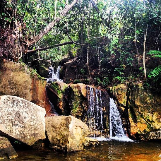 Cachoeira do Boqueirão - Ikatu, Maranhao, foto: Vanessa Serra