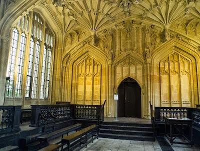 Bodleian ceiling