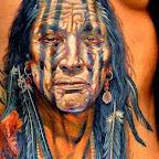 face - Indian Tattoos
