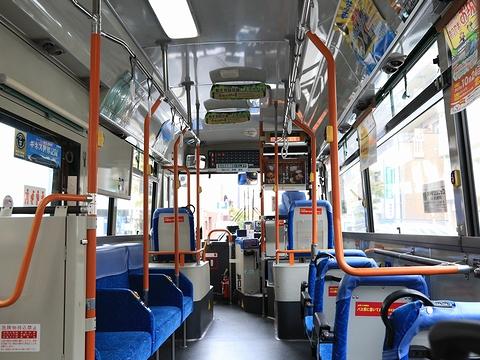 伊予鉄道 5156 車内