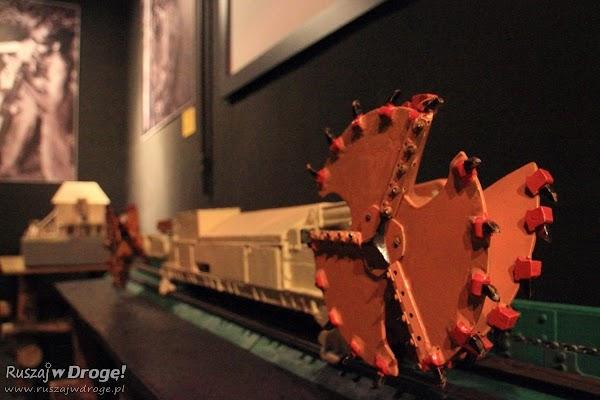 Muzeum Górnictwa Węglowego w Zabrzu - maszyny górnicze