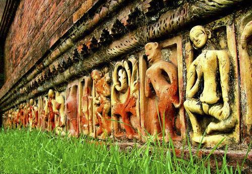 Terracotta at Somapuri Vihara