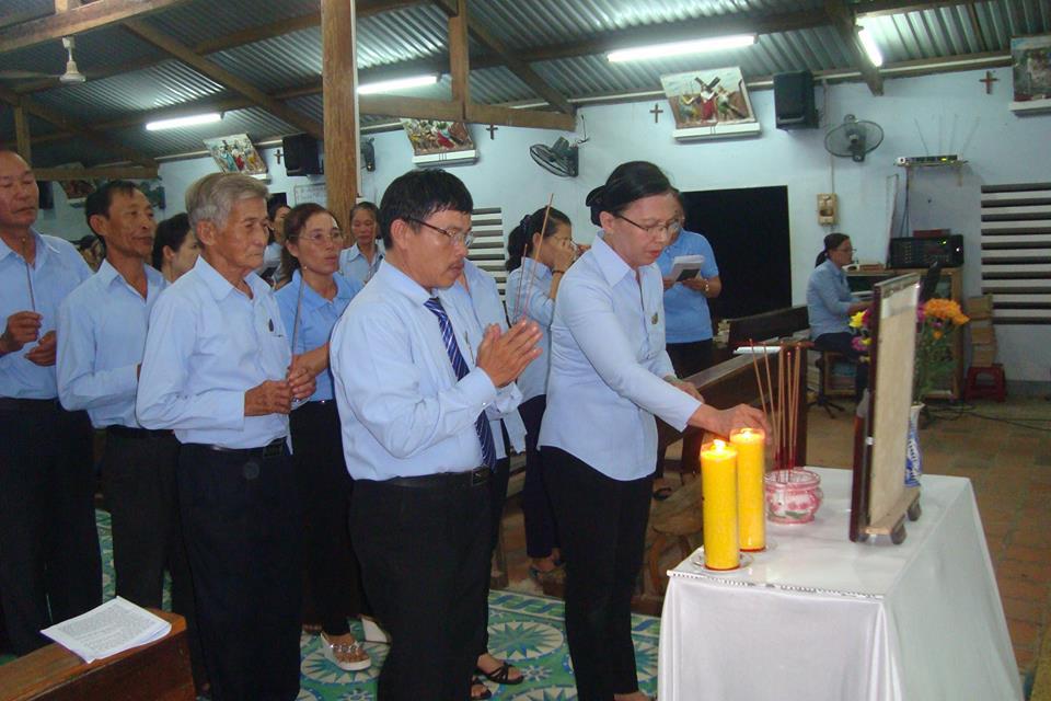 Thánh lễ Giỗ Đức Cha Lambert de la Motte tại Giáo xứ Sơn Nguyên