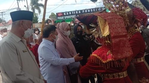 Hari Kedua di Sumbar, Menteri PPN/Bappenas RI Tinjau Kondisi Pembangunan Limapuluh Kota