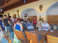 Neil Gaiman életművéhez kapcsolódó játékos feladatok Mázik Orsolya vezetésével.JPG