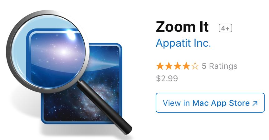 4 Zoom It app