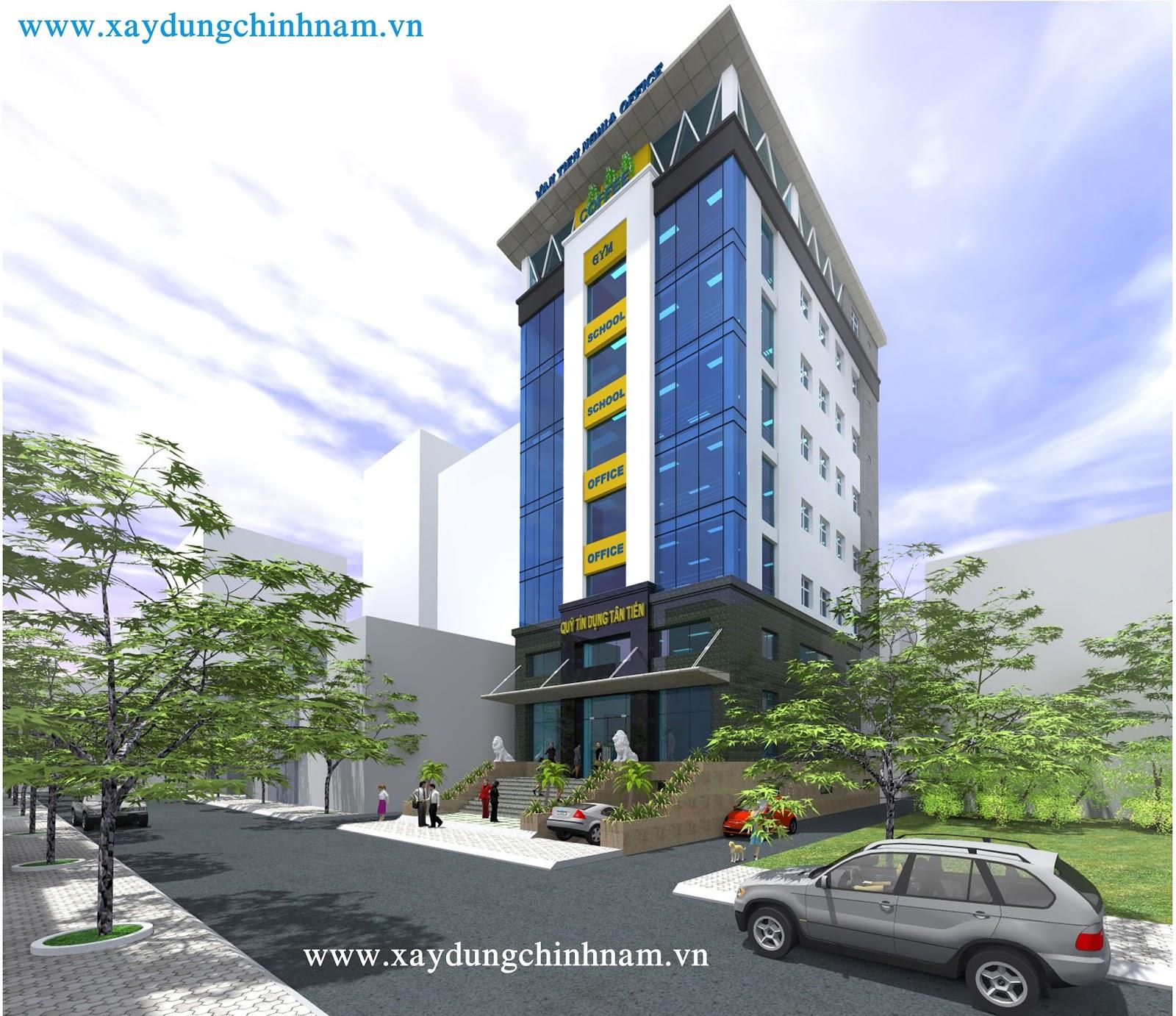 Nhà cao tầng - Công ty VĂN TIẾN NGHĨA - Biên Hoà, Đồng Nai