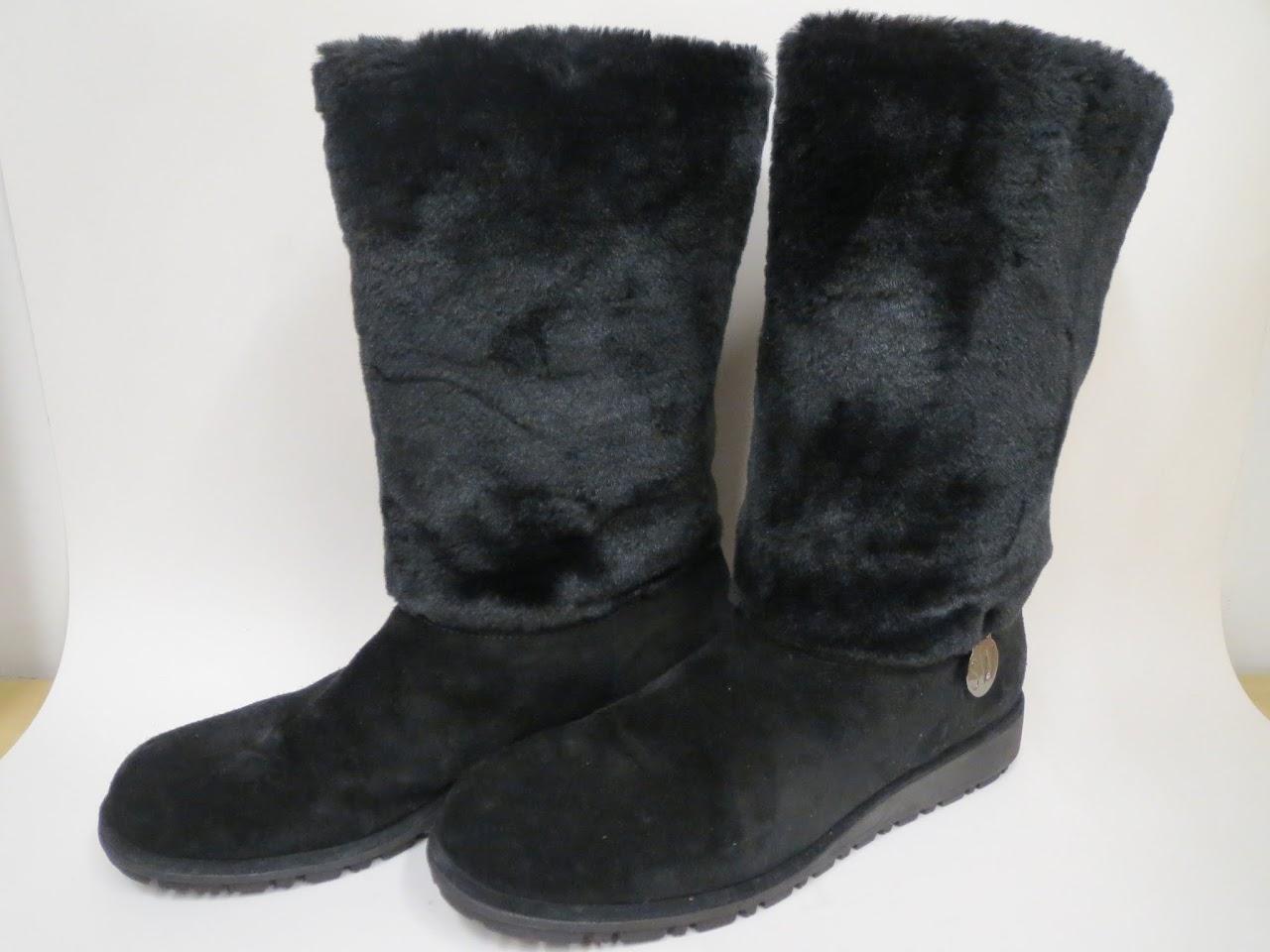 Stuart Weitzman Suede Winter Boots