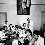 nauka_001_Аудитория в учебном заведении, 1945-50.jpg