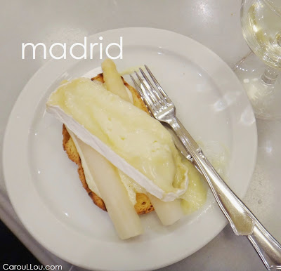 CarouLLou.com Carou LLou in Madrid Spain Food Tapas La Daniela calle de Jesus-+-