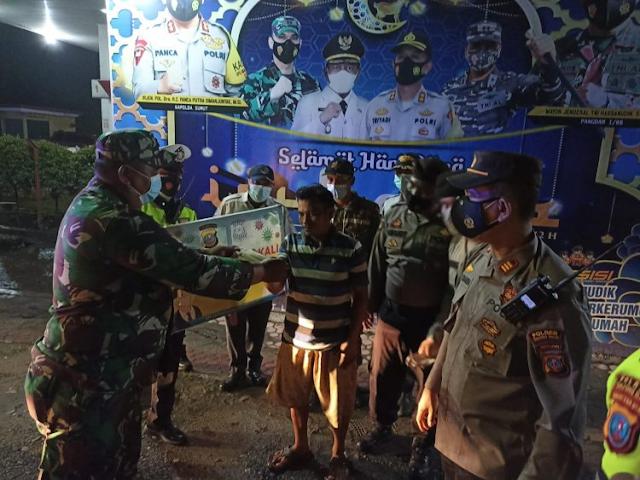 Patroli Gabungan Gelar Operasi Yustisi dan Penyekatan di Kota Tanjungbalai