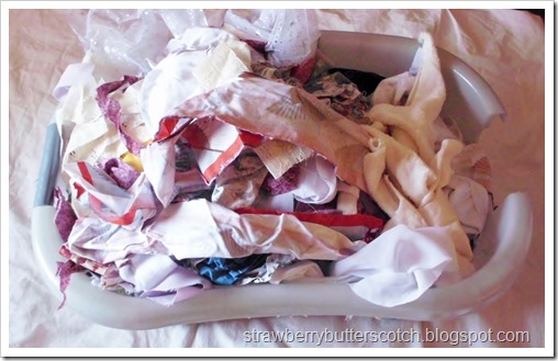 Major Craft De-Stash, Part 2: Fabric Scraps