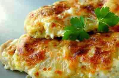 Куриная грудка с ананасами и сыром в духовке рецепт с фото