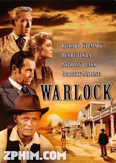 Thị Trấn Warlock - Warlock (1959) Poster