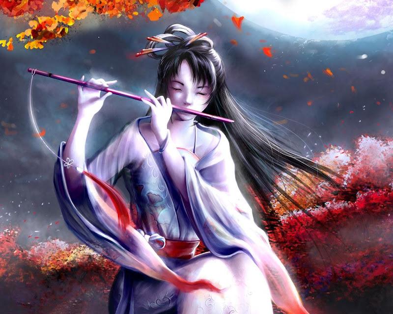 Autumn Song Of Flute, Fairies 1