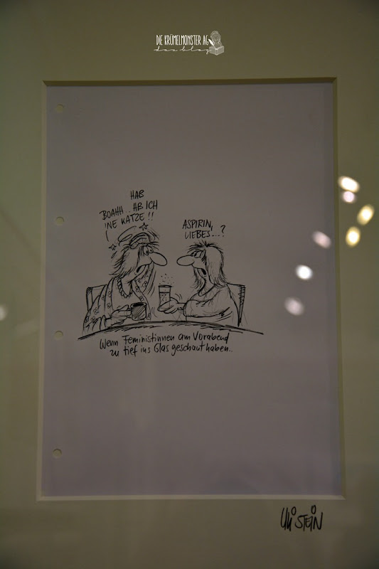 Ausstellung (11) Uli Stein in Hähnlein