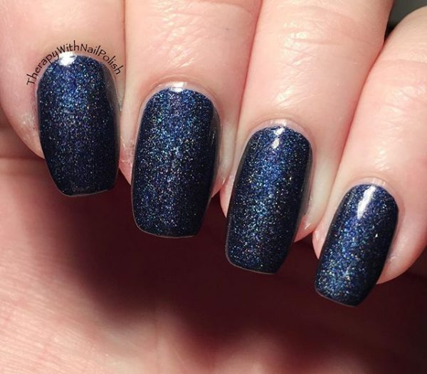 Top 50 Navy Blue Nail Designs Also Best Nail Trends - Hairstyles 19