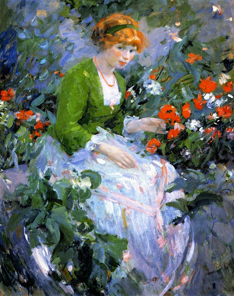 Karl Albert Buehr - The Flower Girl 1912