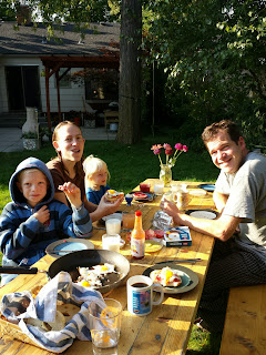 It was great to spend time with my friends Harald and Brynne. They were amazing hosts to Brian and me.