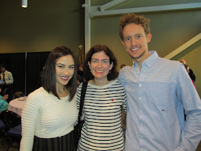 Photo: With Madison Chock and Evan Bates