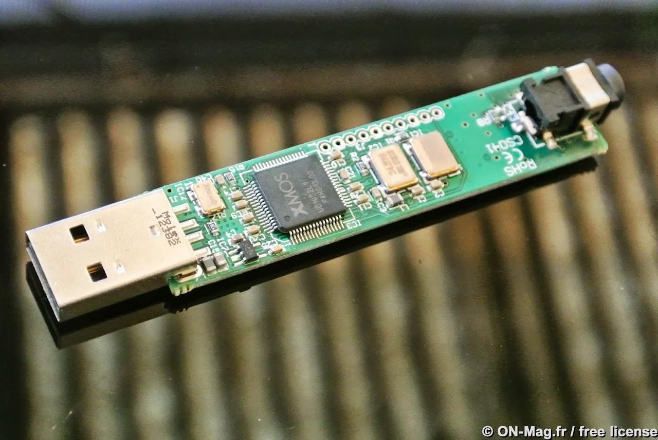 Interface de réception USB XMOS et double horloge (une ...