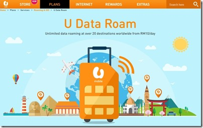 U Mobile - U Data Roam