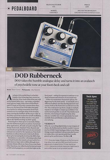 Guitarist Rubberneck 560