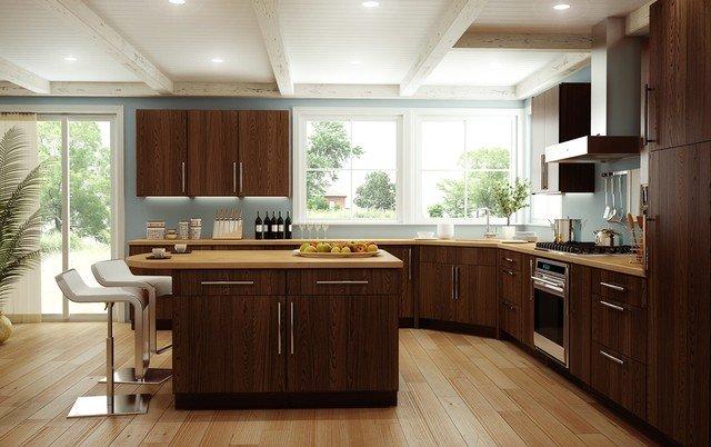 modern kitchen wooden design 2016