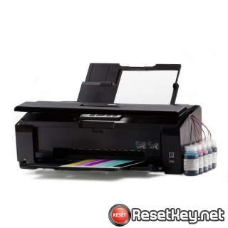 Reset Epson Artisan 1430 printer Waste Ink Pads Counter