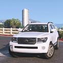 City SUV Toyota Land Cruiser 200 Parking icon