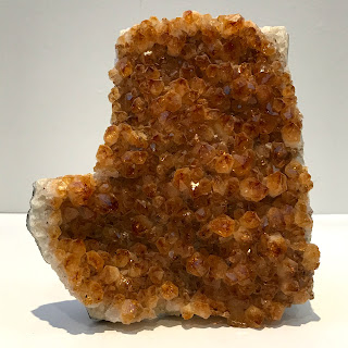 Citrine Geode Fragment Specimen