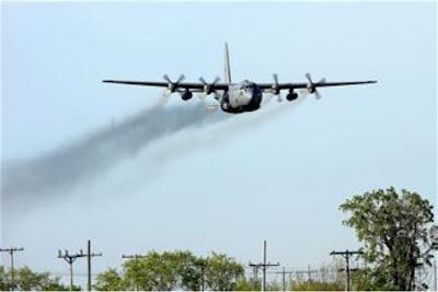 Neurotoxin sprayed over Miami