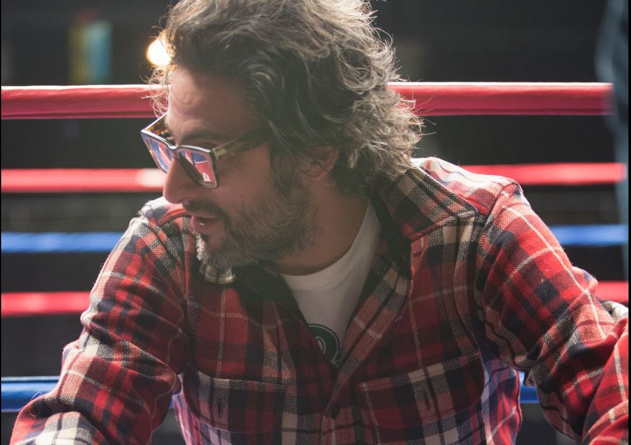 Director Ben Younger on the set of BLEED FOR THIS. (Photo by Seacia Pavao / Open Road Films).