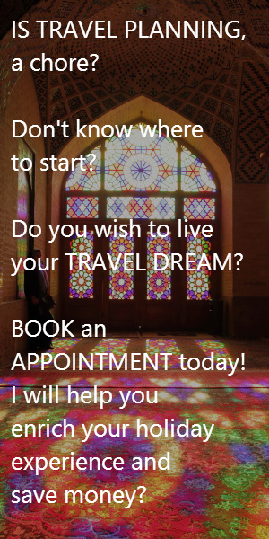 Book your Appointment today and live your travel dream!