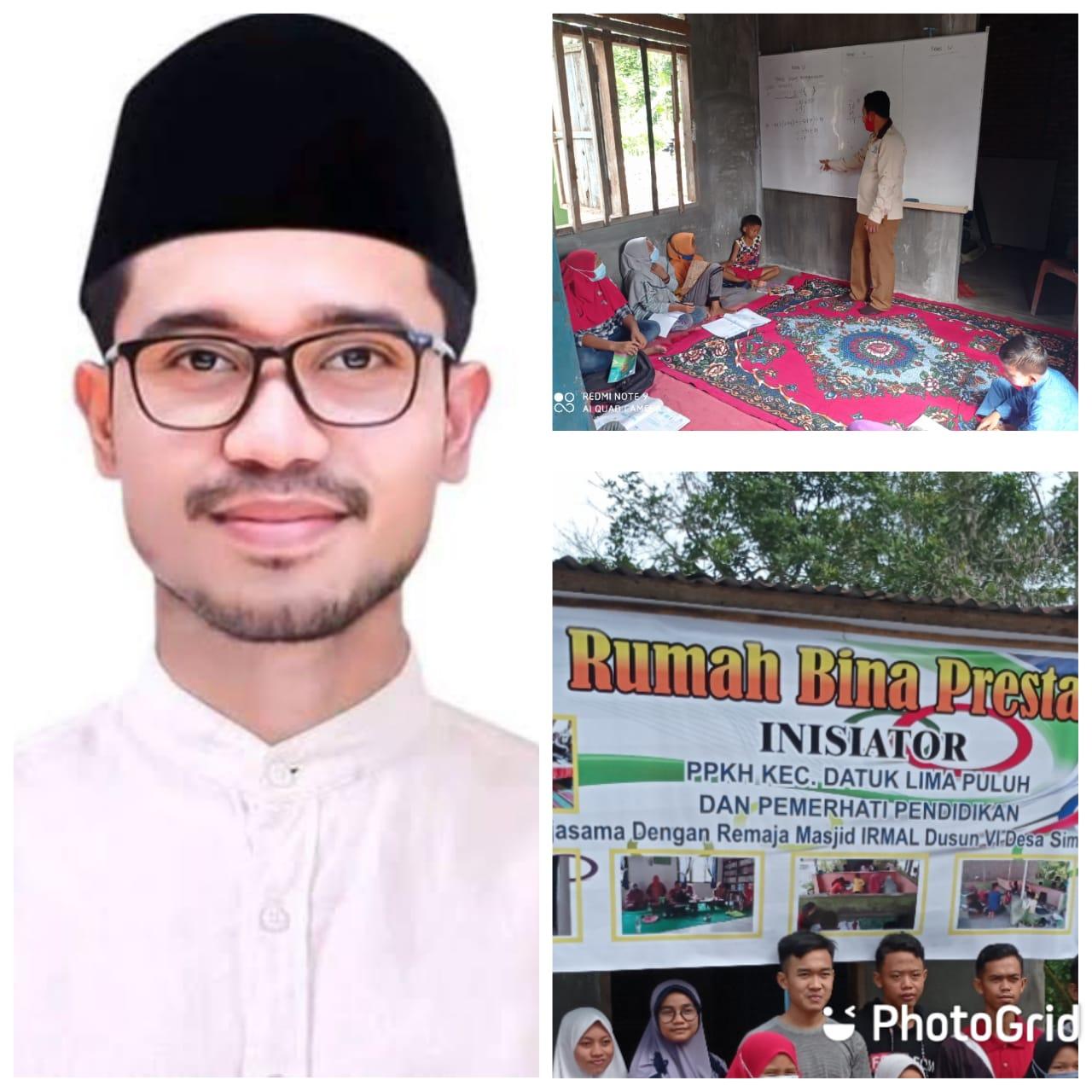 Anggota DPRD Andi Lestari, SKG Bantu Rumah Bina Prestasi PKH Batu Bara