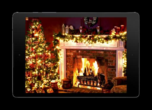 Christmas Fireplace LWP 1.0 screenshots 8
