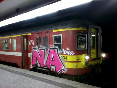 na sendr graffiti