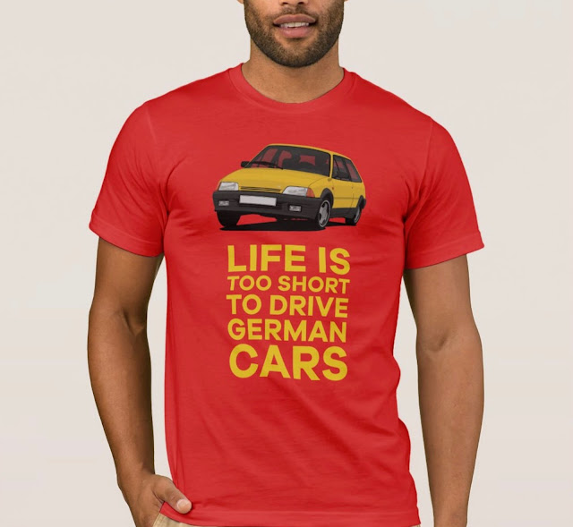 Life is too short to drive German cars with Citroën AX