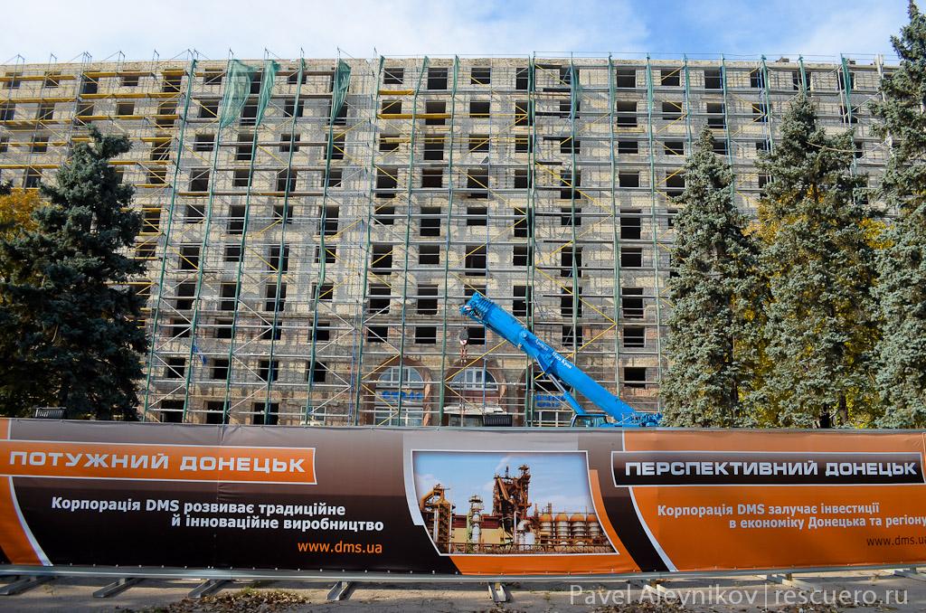 """реконструкция гостиницы """"Украина"""""""