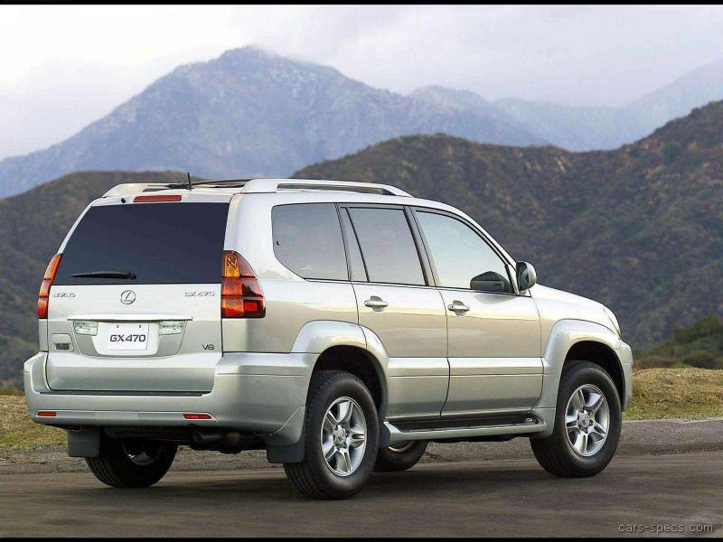2004 lexus gx 470 suv specifications pictures prices. Black Bedroom Furniture Sets. Home Design Ideas