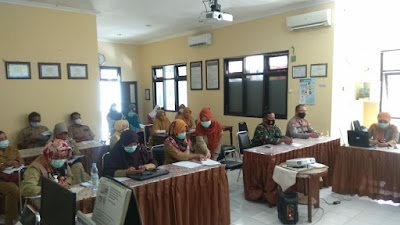 Bati Tuud Koramil 17 Menghadiri Lokakarya Mini Lintas Sektor