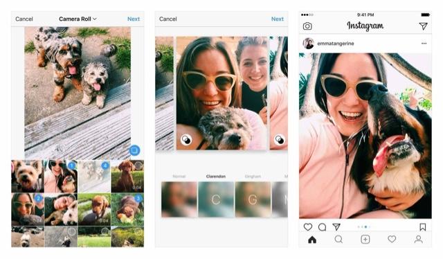 e60e8dea5dde5 Instagram agora permite publicar fo.