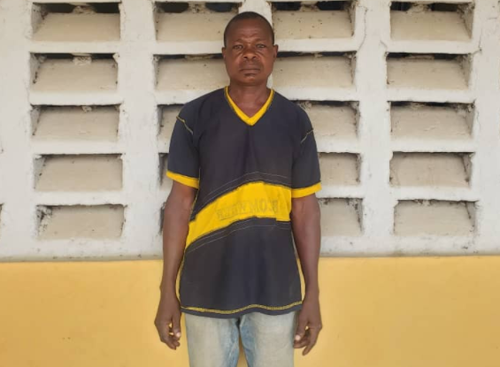 Man arrested for defiling his 14-year old daughter (photo)