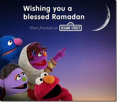 Sesame Street Ramadan