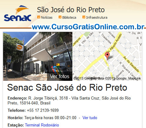 Senac São José do Rio Preto
