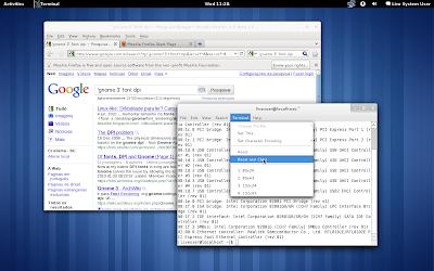 Fedora 15 Alpha - screenshot 1